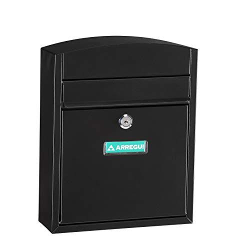 Arregui E5734 Buzon Exterior Acero Negro Compact
