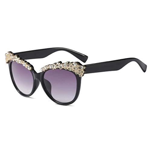 Yying Kids Sunglasses Baby 3-8 Jahre Mädchen Cute Cat Eye Sonnenbrillen schützen UV400 Eyewear C3
