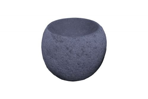 Quellkugel aus Granit schwarz