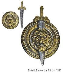 Gladiator Set Schwert und Schild - Tolles Accessoire zu Kostümen der ()