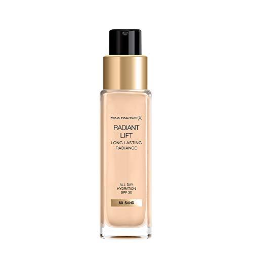 Max Factor, Base de maquillaje (Tono: 60 Sand, Pieles Claras) - 115 ml.