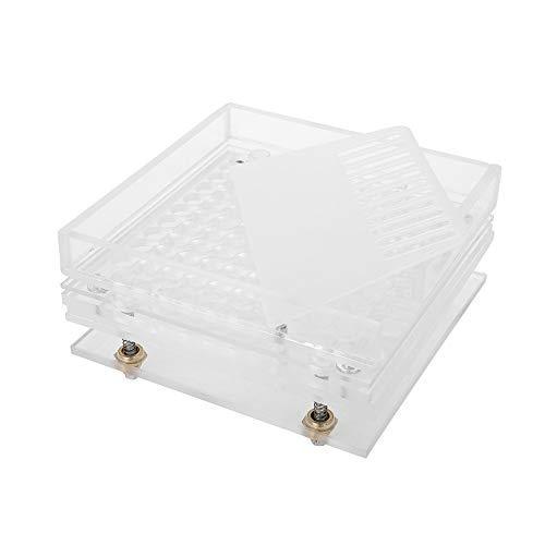Kapselfüller Leere Kapseln Platten 100 Löcher mit Pulverstreuplatten Halbautomatisches Kapselfüllwerkzeug 8 Typen(4#)