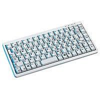 Cherry G84-4100 LCMEU-0 Tastatur USB 86 Tasten MS W95 US Hellgrau -