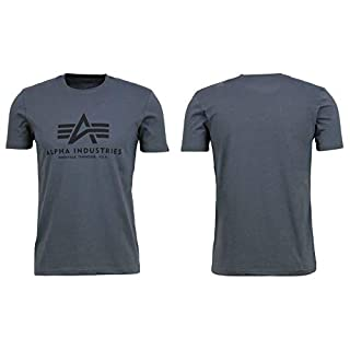Alpha Industries Herren T-Shirt grau S