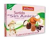 Mantecados y bombones surtidos sin azúcar caja 285GRS