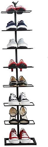 YZjk Meuble à Chaussures en Fer forgé Multicouche, présentoir de présentoir de Magasin de Chaussures Magasin de Chaussures Centre Commercial étagère à Chaussures