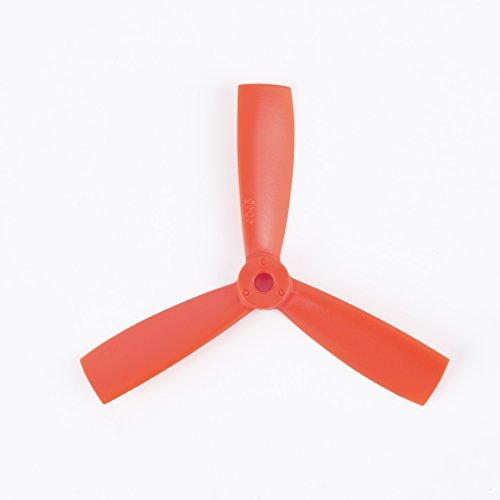 2 Paare 4045 Stier Nase 3 Blatt Propeller Flach CCW Cw Für Ocday - Orange, 3 Blätter ()