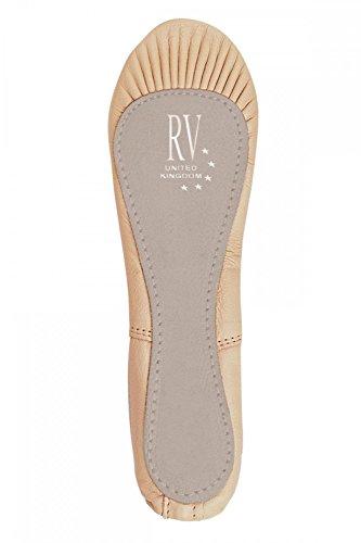 Roch Valley Ophelia Ballettschläppchen aus Leder mit Gummibänder 29 Blassrosa
