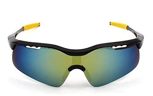 EDSWXT Schutzbrillen Radsportbrillen-Sonnenbrille-Männliche Reitbrille Fahren Sport-Gläser Im Freien Rad, A