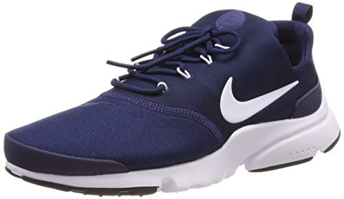 Nike Herren Presto Fly Laufschuhe, Blau (Midnight Navy/White-Black 408), 42 EU -