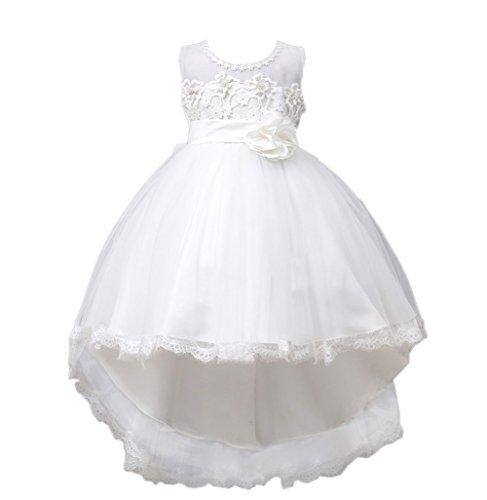 VLUNT Maedchen Kleid Pinzessin Kostuem Maedchen Hochzeit Party Kleid