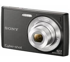 Sony Cybershot DSC-W510 12.1 MP ,Black