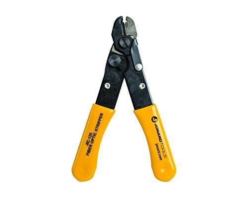 jonard Tools jic-125LWL Abisolierzange mit Gelb Kunststoff getaucht Griff, 5-3/40,6cm Länge (Jonard Tools)