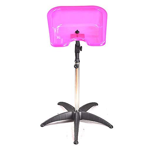 Mobiles Haarwaschbecken, verstellbar und schwenkbar Pequeño Negro,Pink