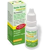 Preisvergleich für Herba-Vision Augentrost (Euphrasia) Spar-Set 3x15ml. Zur besseren Befeuchtung der Augen, insbesondere beim Tragen...