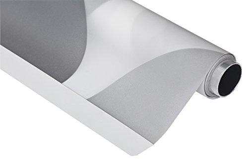 Basic Duschrollo 140x240 cm - Modell Retro grau