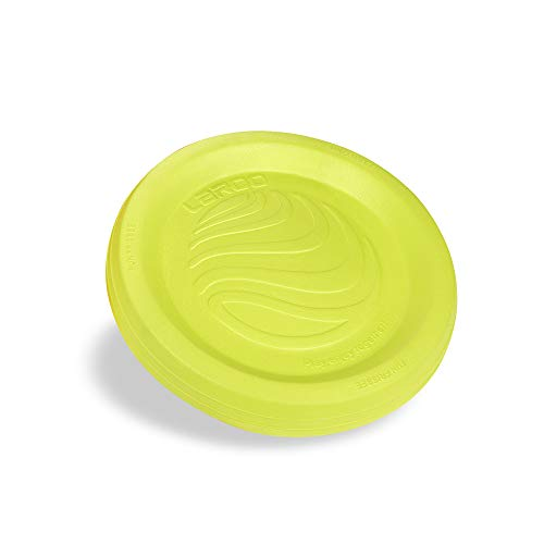 Hundespielzeug, LaRooTM Hunde Flying Disc Hunde Frisbee ABS Material Floatable Hundespielzeug Pet Frisbee Tossing Toys für Welpen, Kleine, Mittlere und Große Hunde - Zitrone - Extra Frisbee Große