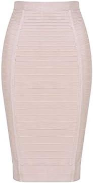HLBandage Women's High Waist Elastic Rayon Bandage Pencil S