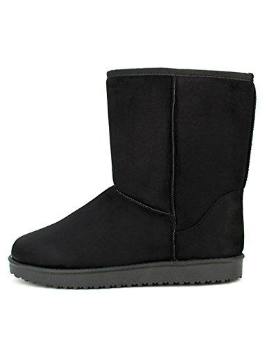 Chaussures Noires Femme Noir Utga Fourrées Cendriyon Boots 0uvxvw rCsQdxht