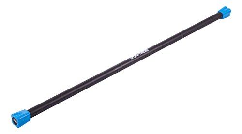 Sport-Thieme Steel Weighted Bar 2 kg, Hellblau