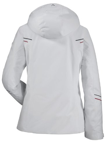 Schöffel Ferry-Veste de Ski-Femme Blanc - woolwhite