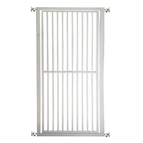 LLAAYY Barrières Kinderschutz-Sicherheitstür, kostenlose Installation, Pet Isolation Tür, 75-140 x 80 cm, Weiß (Size : 127-135cm)