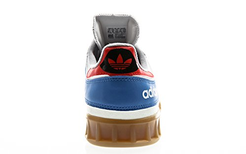 adidas Handball Top, Chaussures de Fitness Homme Multicolore - blanc/rouge (Blacla / Rojtac / Reabri)