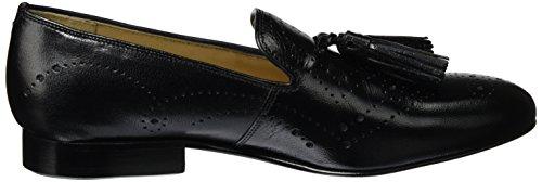 Melvin & Hamilton Damen Mila 10 Slipper Schwarz (Salerno Black / Black Perfo M&H LS-Nat.)