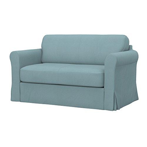 Soferia - IKEA HAGALUND Funda para sofá Cama, Eco Leather Mint