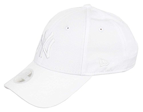 New Era New York Yankees New Era 9forty Adjustable Women Cap League  Essential White - One d7926f31201