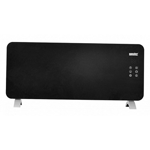 31ttL%2Bq1%2BcL. SS500  - Hecht 2kW Electric Touch Screen Panel Heater with Remote Control 3621