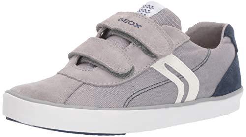 Geox Jungen J Kilwi Boy I Sneaker, Grau (Grey/Blue C0244), 39 EU