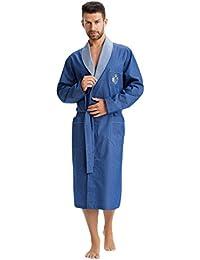 LEVERIE - Robe de chambre - Col Châle - Manches Longues - Homme