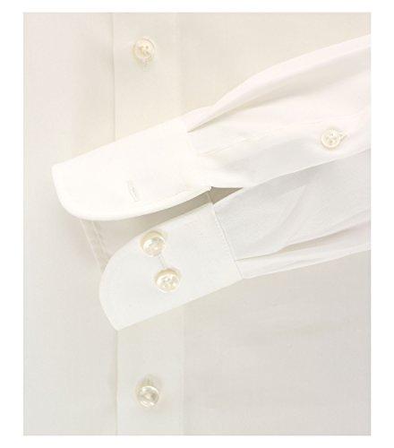 CASA Moda - Modern Fit - Bügelfreies Herren Business Langarm Hemd Verschiedene Farben (006550) Creme (62)