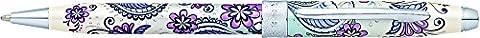 CROSS Botanica Purple Orchid / Ballpoint Pen incl. Premium Gift Box / Refillable Medium Ballpen
