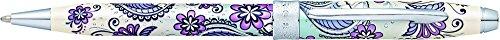 Cross AT0642-2 Botanica Kugelschreiber (polierten Chrom beschlägen) violett orchidee