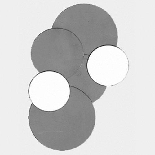 Thomafluid Membran aus Celluloseacetat, Außen-Ø: 13 mm, Porengröße: 1,2 µm, 100 Stück -