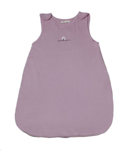 Eveil et Nature – Saco de dormir para bebé (madera, 50 cm), color rosa