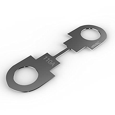 Auprotec® Lame de fusibles HSB 30A - 175A Fusible à lames choix: 110A Ampere, 3 pièces