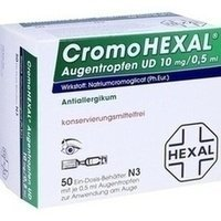 CromoHexal Augentropfen UD, 50 St. (Augentropfen Schmerzen)