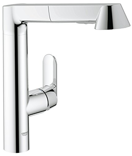 grohe k7 k chenarmatur hoher l auslauf herausziehbare sp lbrause 32176000. Black Bedroom Furniture Sets. Home Design Ideas