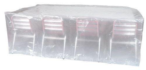 Housse de protection pour chaises et table rectangulaire 310x150x80cm 90gr/m² REF PRH090310X150