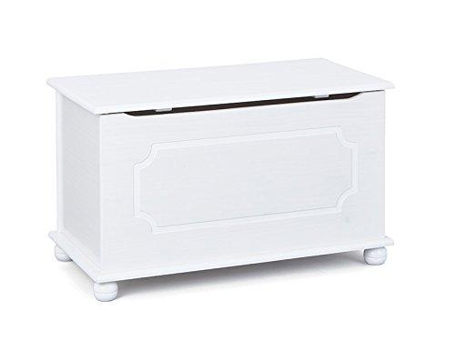 Panca Contenitore Legno : Esidra hidden hills panca contenitore legno bianco cm