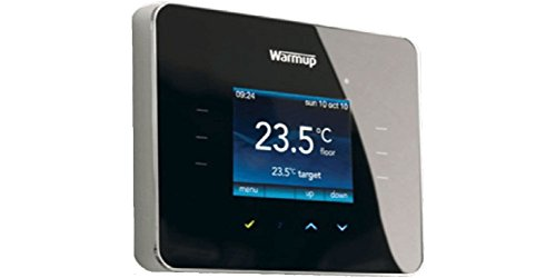 Warmup 3ie Thermostat, Noir