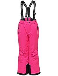 LEGO Wear Tec Action Lwplaton 725-Skihose/schneehose Pantalones para la Nieve, Rosa (Dark Pink 474), 152 para Niñas