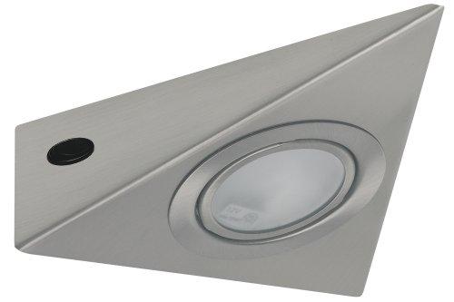 Paulmann 98398 Möbel ABL Set 3eck. 3x20W 60VA 230/12V G4 Eisen gebürstet Metall/Glas (Web-eisen)
