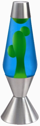 Lava Lamp, 16.3-inch - Blue/Green: Amazon.co.uk: Lighting