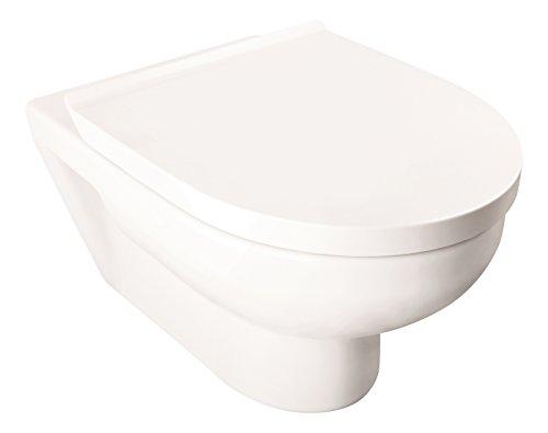 Duravit Basic Wand-WC-Set rimless, 1 Stück, weiß, 04791 3