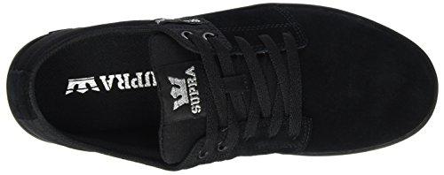Silver Uomo Supra Black Sneaker II Schwarz Black Stacks q4OtOrYw