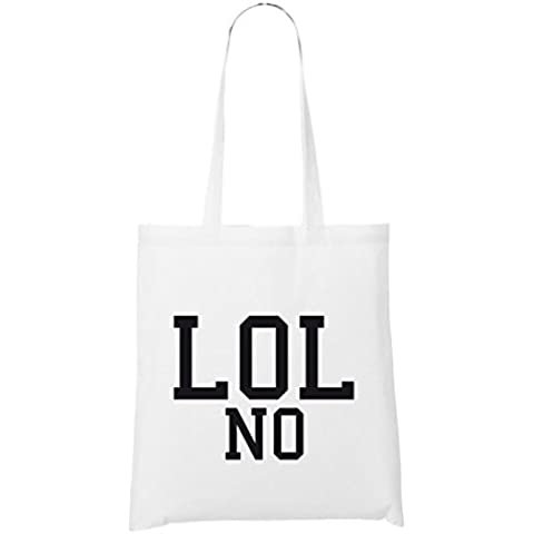 LOL No Bolsa Blanco